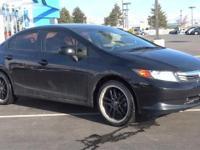 Civic LX, 4D Sedan, 1.8L I4 SOHC 16V i-VTEC, 5-Speed