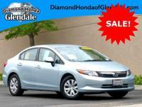Options:  2012 Honda Civic Lx|Silver|***No Haggle