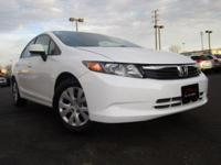 CARFAX One-Owner. Non-Smoker, Civic LX, 1.8L I4 SOHC