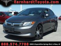 We are happy to offer you this 2012 Honda Civic LX