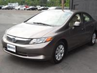 This 2012 Honda Civic Sedan 4dr LX Sedan 5-Speed AT