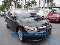 CARFAX One-Owner. Clean CARFAX.  Brickell Honda is