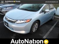 2012 Honda Civic Sdn Our Location is: AutoNation Honda