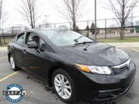 Sturdy and dependable, this pre-owned 2012 Honda Civic