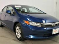 2012 Honda Civic Sdn Sedan 4dr Auto LX Our Location is: