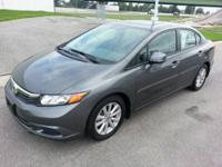 This outstanding example of a 2012 Honda Civic Sdn EX-L