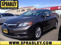 This 2012 Honda Civic Sdn EX-SPOUSE is offered