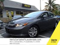 2012 HONDA CIVIC SEDAN 4 DOOR LX Our Location is: