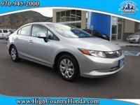 Acquaint yourself with the 2012 Honda Civic! Boasting