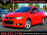 We are thrilled to offer you this 2012 Honda Civic Si