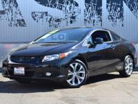 This 2012 Honda Civic Coupe 2dr Si Coupe 6-Speed MT