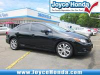 2012 Honda Civic Si31/22 Highway/City MPG**Awards:*