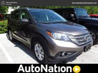 2012 Honda CR-V. Our Place is: Mercedes-Benz of