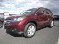 Ready for adventure? Meet our efficient 2012 Honda CR-V