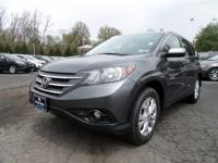 NAVIGATION!. CR-V EX-L NAV. Honda Certified! Ready to