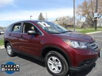 Sturdy and dependable, this pre-owned 2012 Honda CR-V