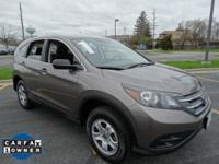 Safe and reliable, this pre-owned 2012 Honda CR-V LX