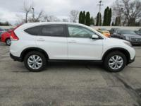 Options:  2012 Honda Cr-V Ex|White Diamond