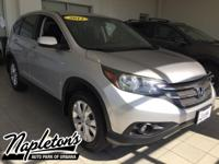 Recent Arrival! 2012 Honda CR-V in Silver, AUX