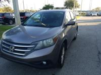 Recent Arrival! New Price! This 2012 Honda CR-V EX in