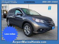 Here is a rare find a clean, low mile 2012 Honda CR-V