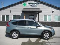2 owner, 2012 Honda CRV EXL AWD with brand new tires