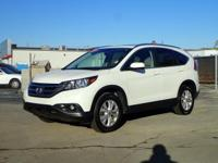 White 2012 Honda CR-V EX-L AWD 5-Speed Automatic 2.4L