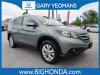 This 2012 Honda CR-V Includes. CLEAN CARFAX NO