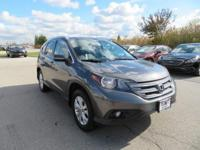 Recent Arrival! 2012 Honda CR-V EX-L Diamond White