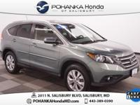 2012 Honda CR-V EX-L AWD w/ Navigation, Moonroof and