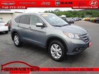 AWD. CR-V Honda 30/22 Highway/City MPG** 2.4L I4 DOHC