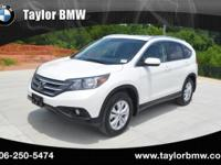 This outstanding example of a 2012 Honda CR-V EX-L is