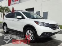Options:  2012 Honda Cr-V Ex-L|White|**Clean