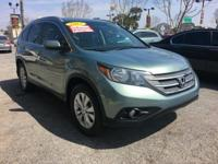 This OPAL SAGE METALLIC CRV IS A ONE OWNER IS A CLEAN