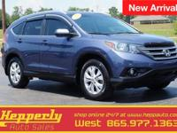 Recent Arrival! Clean CARFAX. This 2012 Honda CR-V EX-L