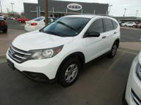 Sturdy and dependable, this Used 2012 Honda CR-V LX