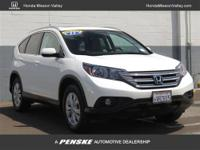 This 2012 Honda CR-V 4dr 2WD 5dr EX-L SUV features a