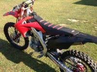For sale is a Honda 2012 Crf250R. This bike is in great