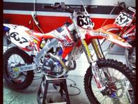 2012 Honda CRF450 ?only 3 hours? Local Pro?s National