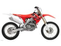 All in all the CRF450R is the most dialed-in open-class