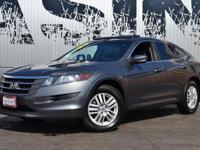 This 2012 Honda Crosstour 4dr EX 2WD features a 2.4L L4