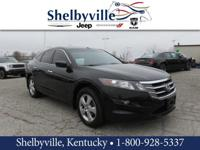 Black 2012 Honda Crosstour EX FWD 5-Speed Automatic