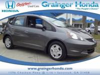 CARFAX 1-Owner. Fit trim. FUEL EFFICIENT 33 MPG Hwy/27