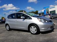 CARFAX One-Owner. Clean CARFAX. 2012 Honda Fit FWD