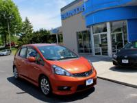 2012 Honda Fit Sport Leather & Heated Seats, Sunroof