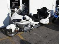 This 2012 Honda GL1800 only has 15,990 miles on it and