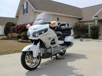 2012 Honda Goldwing with Navi Package..4666 miles ...