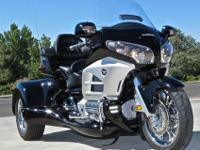 2012 Honda GL 1800 Goldwing Roadsmith trike. This trike