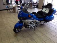 Garber Automall This 2012 Honda Goldwing is fresh out