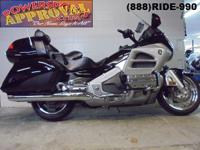 2012 Honda Goldwing 1800 motorcycle for sale with only